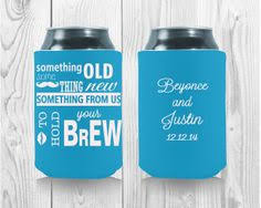 wedding personalized koozies let brew customized koozies are the koozies for your