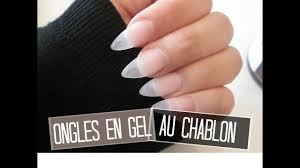 Couleur Ongle Gel by Tuto Ongles En Gel Extension Au Chablon Melissa Easy Nails Youtube