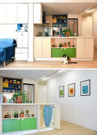 plenty of creative small space storage solutions were added to