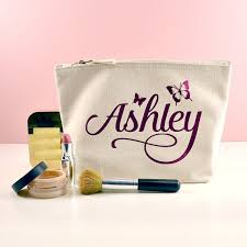 wedding gift kits personalized butterfly names makeup toiletry kits bridesmaid