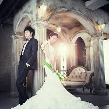 backdrop wedding korea korean style pre wedding photos wedding photos