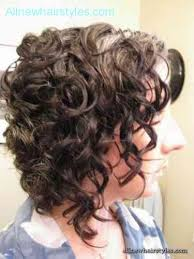 angled bob for curly hair angled bob curly hair allnewhairstyles com