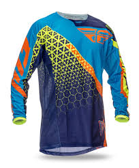motocross helmets ebay fly racing jersey kinetic trifecta blue orange 2016 maciag offroad