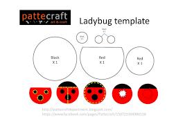ladybug craft template patterns patterns kid