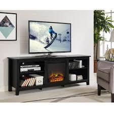 Tv Wood Furniture Design 70 Tv Stand With Fireplace Tlsplant Com