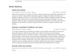 Child Care Worker Resume Sample by Pet Care Resume Sample Reentrycorps