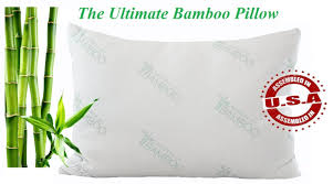 amazon com ultimate essence of bamboo pillow with premium