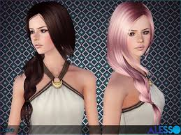 sims 3 hair custom content sims 3 updates the sims resource lights hair by alesso