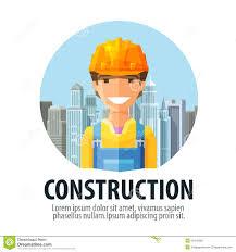 construction company vector logo design template stock vector