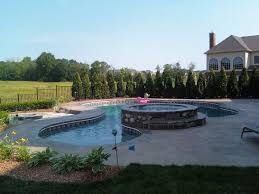 ndk contracting llc swimming pool builder mi stamped concrete