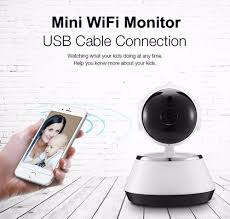 wireless 720p pan tilt network home ip camera ir night vision wifi