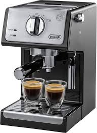espresso maker how it works delonghi espresso and cappuccino maker silver ecp3420 best buy