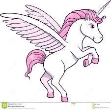 pink unicorn clipart 37
