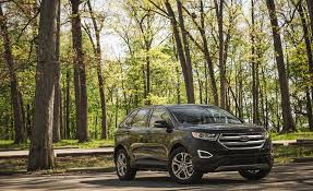 Ford Edge Safety Rating 2017 Ford Edge In Depth Model Review Car And Driver