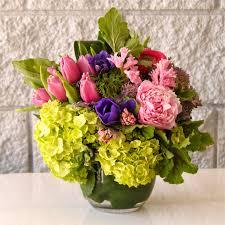 San Francisco Flower Garden by Garden Rose And Tulip Bowl In San Francisco Ca Elizabeth U0027s Flowers