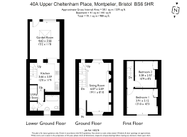 50 Sq M To Sq Ft 2 Bedroom Property For Sale In Upper Cheltenham Place Montpelier