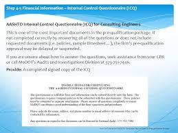 how to tutorial for modot u0027s consultant prequalification process