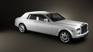 rolls royce phantom 2016 360 view of rolls royce phantom 2011 3d model hum3d store