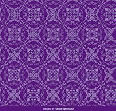 floral ornament purple pattern vector