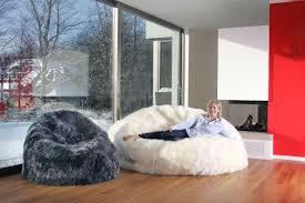 fibre by auskin giant sheepskin bean bag chair u2013 ultimate sheepskin