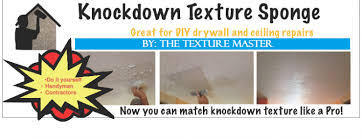 Repair Textured Ceiling by How To Match Knockdown Texture Diy Knockdown Texture
