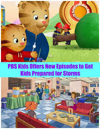 pbs kids offers new episodes to get kids prepared for storms the