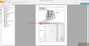 toyota forklift 7 series workshop manual auto repair manual