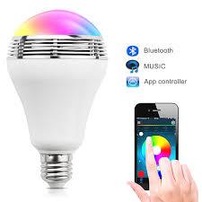 bluetooth music light bulb uyg e27 wireless bluetooth speakers ceiling speaker smart led mp3