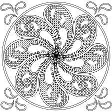 water mandala ornament stock illustration image 89448791