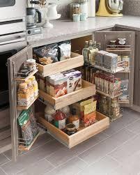 Best Small Kitchen Organization Ideas On Pinterest Small - Kitchen storage cabinets ideas