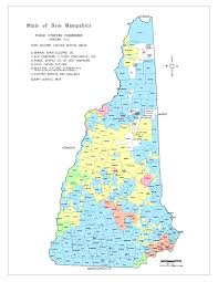 New Hampshire State Map by New Hampshire Better Cost Control