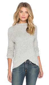 boho wrap free boho wrap sweater in grey revolve