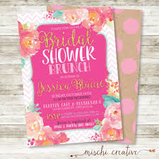 bridal shower brunch invitations shop bridal shower invitation coral on wanelo