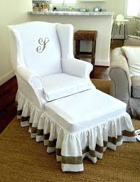 Matching Chair And Ottoman Slipcovers Matching Chair And Ottoman Slipcovers Sure Fit Slipcovers Our