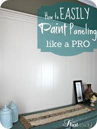 how to paint over wood paneling diy home repair hack easily paint over wood paneling