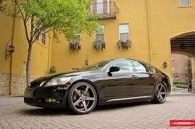 lexus gs 450h hybrid 2009 vossen wheels lexus gs vossen cv3r