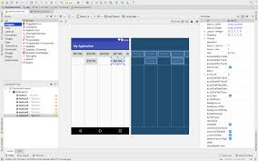 grid layout for android android studio gridlayout の使い方 複雑なレイアウトを表現する方法