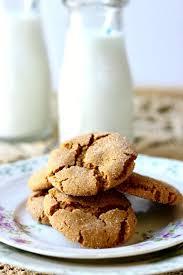 peanut butter molasses cookies crispy chewy crinkles restless