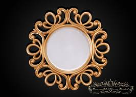 ornate gold mirror from ornamental mirrors limited