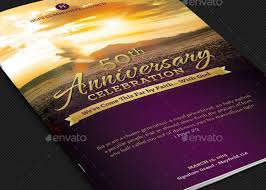 Church Programs Template Church Anniversary Service Program Template Godserv