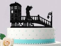 dr who cake topper dr who tardis in time wedding cake topper 2426796 weddbook