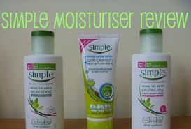 simple light moisturizer review simple rich light spotless moisturiser review youtube