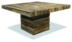 rustic square dining table square extendable dining table table square leg square extendable