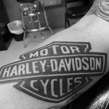 photo collection harley davidson logo tattoo