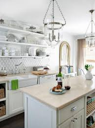 kitchen small kitchen in white decoration white wooden wall rack
