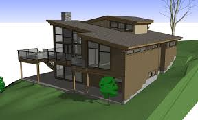 modern house plans with rear view housedecorations