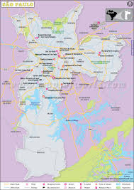 Washington Dc Zoo Map by Sao Paulo Map City Map Of Sao Paulo Brazil