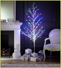 led indoor tree lights home design ideas