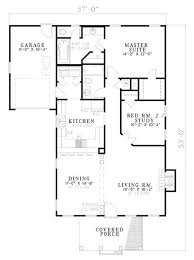 classical style house plan 2 beds 2 00 baths 1172 sq ft plan 17 179