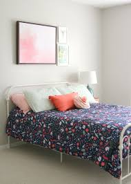 a big bed for little miss decor fix